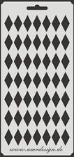 Scrapbooking Schablone S-014  Rauten  ~ Stencil ~ UMR-Design