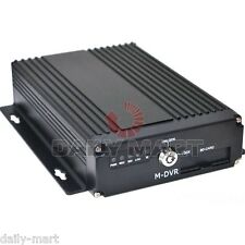 Mobile Car Bus Truck 4CH SD Card DVR CCTV Realtime CCTV Video Recorder System