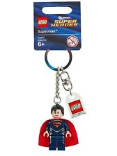 Lego DC Universe Super Heroes 2 Superman Minifigure Key Chain Keychain xmas gift
