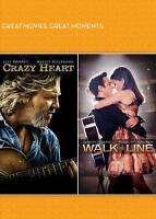 Crazy Heart/Walk Line Double Feature (DVD, 2011, 2-Disc Set, With Musical...