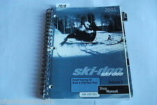 2001 Bombardier Ski Doo Grand Touring Mach 2 STD / Tech Plus Manual OEM