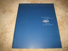 1998 Ford SVT Contour sales brochure dealer literature ORIGINAL
