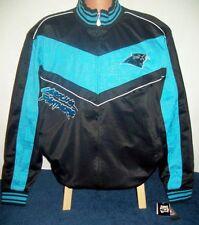 Carolina Panthers Jacket NFL Track Jacket Adult Medium Free Shipping