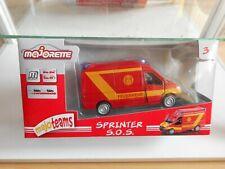 Majorette Majoteams Mercedes Sprinter Feuerwehr in Red in Box