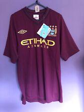 """Manchester City 2012-2013 Away Shirt Size 38"""" BNWT"""
