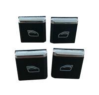 4x Porsche Panamera Window Master Switch Buttons Caps Cover Repla 7PP959858R DML