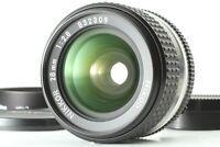 【ALMOST MINT w/ HOOD】Nikon Ais 28mm f2.8 Wide Angle Prime Lens MF Ai-s JAPAN