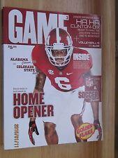 2013 Alabama Football Program Alabama Crimson Tide vs Colorado State Rams