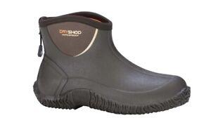 DRYSHOD Haymaker Men's Size 8 Khaki Legend Camp Ankle Waterproof Boots