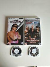 Bret Hart &best of Raw& Smackdown v2/ UMD video
