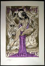 RARE - J SCOTT CAMPBELL hand signed DEJAH THORIS #1 ltd edition ART PRINT 2009