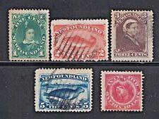 Canada/Newfoundland 45,48,51,54,56 - Used and Unused