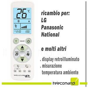 Telecomando Controller LCD Universale per LG Lazmin112 Telecomando Universale di Ricambio per condizionatore LG 6711A90032L
