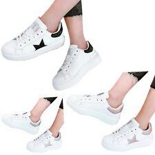 Scarpe donna Sneakers Stella Glitter Ginnastica Passeggio Fitness Sportive C84