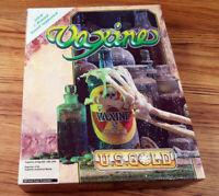 Vaxine / U.S. Gold 1990 Commodore AMIGA Big Box Spiel Collectible OVP CIB Works
