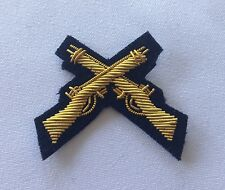 Cross Rifles Sleeve Badge, Mess Dress, Army, Black, Skill at Arms, Military, SAA