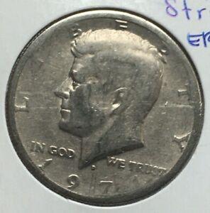 1971 Denver Mint Kennedy Half Dollar WEAK STRIKE ERROR 50¢ #142