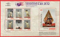 Indonesia MS 2012, Special with genuine leather. World stamp Championship