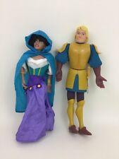 Esmeralda Phoebus Puppets Hunchback Notre Dame Vintage 1996 Disney Burger King