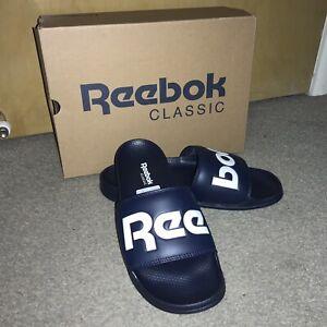 Brand New Reebok Sliders Flip Flop Size 10