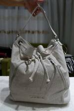 AUTHENTIC PRE-LOVED ARMANI EXCHANGE BUCKET DRAWSTRING PERFORATED SHOULDER BAG