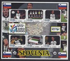 Gambia 2000 European Soccer S/S group Sc# 2294/2301 NH