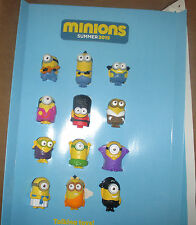 MCDONALDS  2015 MINIONS    IN STORE DISPLAY  TOYS INCLUDED