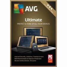 AVG ULTIMATE 2018 / 2 Jahre * 1, 3, 5, unbegrenzte PC / Handy / Tablet * Lizenz