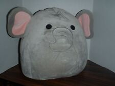 "Squishmallow Mila The Elephant LARGE 16"" Plush Squishmallows Super Soft NEW TAGS"