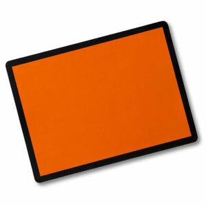 Steel Orange ADR Hazchem Plate Placard for Dangerous Goods Vehicles