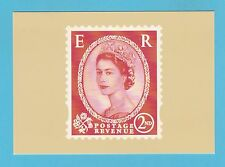 BRITISH POST OFFICE - SCARCE  PHQ  CARD  NO. D 21  -  WILDING  2ND  -  2002