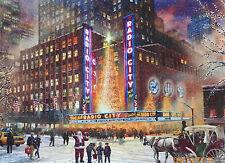 PUZZLE.....JIGSAW....KINKADE...Radio City Music Hall....1000 Pc
