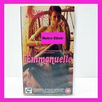 VINTAGE VHS Emanuelle CERT 18 Video Tape Retro Cassette 1992 Collectable Rare