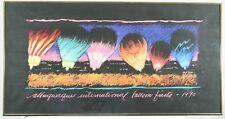 Albuquerque International Balloon Fiesta Hugh Ricks Vintage 1990 LE Poster Print