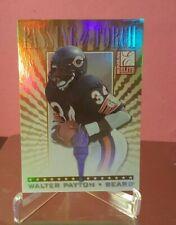 1999 Donruss Elite Walter Payton #/1500 Passing the Torch Refractor Card! Bears!