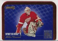 New listing 1995-96 Donruss Between the Pipes #3 Mike Vernon - Detroit Red Wings