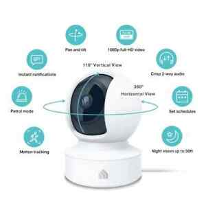 TP-Link KC115 Kasa Spot Pan Tilt 3MP HD Wi-Fi Camera Night Audio Motion Baby Pet