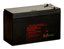 BATTERIE AGM BLEIAKKU 12V 7AH 6,3mm Vds USV APC RBC  12 VOLT 7.2AH 7.2 A 7 AH 7A