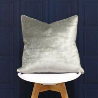 Paoletti Luxe Velvet Filled Cushion  55x55cm - Super Soft Opulent Velvet  Fabric