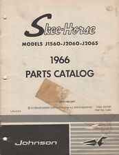1966 JOHNSON SKEE-HORSE SNOWMOBILE PARTS MANUAL 112503 (641)
