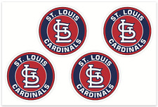 (4) St. Louis Cardinals MLB Decals / Yeti Stickers *Free Shipping