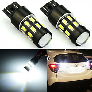 JDM ASTAR 2x960LM 7443 7440 White 5730 SMD Turn Signal Brake Tail LED Light Bulb