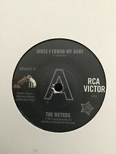 "THE METROS Since I Found My Baby NORTHERN SOUL 45 (OUTTA SIGHT) 7"" (OSV027) 60s"