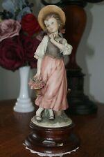 Giuseppe Armani Shepherdess With Flowers 131c