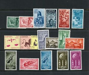 Y815  Fernando Po   small MNH selection  -complete sets - see scan