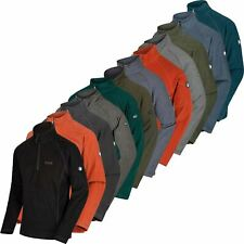 Regatta Mens Montes Half Zip Micro Fleece Top Lightweight Jumper Pullover New