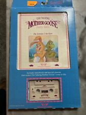 Talking Mother Goose The Tortoise And The Hare Worlds of Wonder Cassette & Book