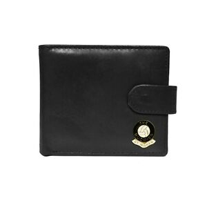 St Mirren football club black leather wallet