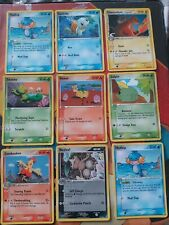 Pokemon Cards Crystal Guardians 9x Cards rare
