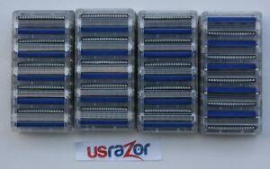 20 Schick Hydro 3 Razor Blades Refill Cartridges Fit Hydro 5 Silk Hydro3 Shaver
